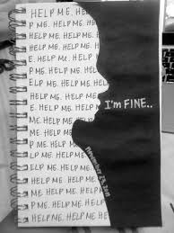 Im Fine Quotes Interesting 48 Depression Quotes With Images Quotes About Depression