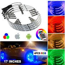 Wheel Light Kit Details About Bluetooth Control Bright Rgb Color Change Led Wheel Light Kit For 17 Rim