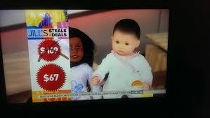 gma steals and deals american doll