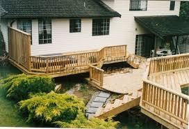 above ground pool with deck attached to house. Building And Designing Above Ground Pool Decks With Deck Attached To House
