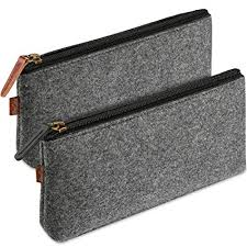 ProCase Felt <b>Pencil Case</b>, Multi-Functional Stationery Pouch Zipper ...