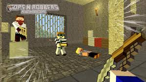 cops n robbers jail break mine mini game with minecraft skin exporter