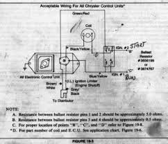 time to decide on an ignition opinions please page for a below is a scan from the dc ignition bulletin in the mp engine book i referenced in my previous post it shows the 5 pin ecu connections and ballast