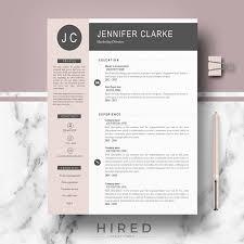 Professional Modern Resume Template For Ms Word Jennifer