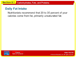 Section 8 1 Carbohydrates Fats And Proteins Objectives Ppt Video