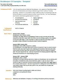 bookkeeping resume accomplishments bookkeeper example assistant