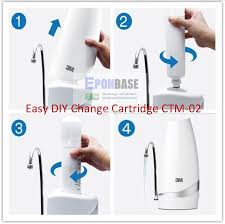 ctm 02 3m counter top drinking water filter system ctm02 ctm2
