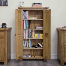 Oak Dvd Storage Cabinet With Doors | Home Furniture Ideas