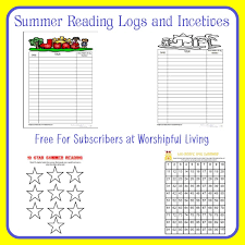 Summer Reading Incentive Chart The Importance Of Summer Reading Worshipful Living