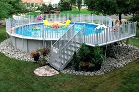 intex above ground pool decks. Contemporary Intex Fence Around Above Ground Pool Ideas Backyard Decks  Uniquely Awesome Pools With  For Intex  In Intex Above Ground Pool Decks