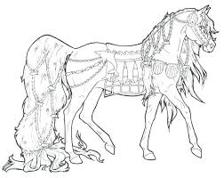 Free Printable Horse Coloring Pages Race Horse Coloring Pages