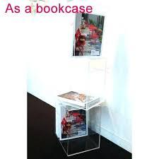 acrylic bookshelves