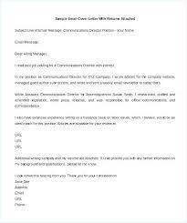 Covering Letter Format For Sending Resume Covering Letter For Resume