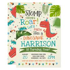 Dinosaur Birthday Invitation Dinosaur Birthday Invitation Dinosaur Roar Party