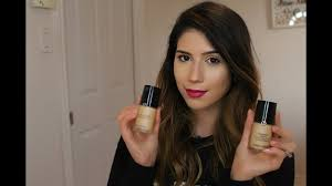 Armani Designer Foundation Review Giorgio Armani Luminous Silk Vs Designer Lift Foundation Yasmine Houla
