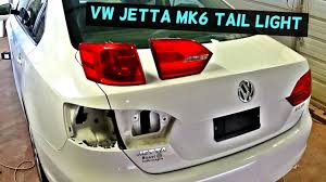 2012 Vw Jetta Brake Light Replacement Vw Jetta Mk6 Rear Tail Light Removal Replacement 2011 2012 2013 2014 2015 2016
