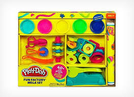 Play-Doh Fun Factory Mega Set 40 Must-Have Toys for Your 2 Year Old Boy (Learning and Just Plain