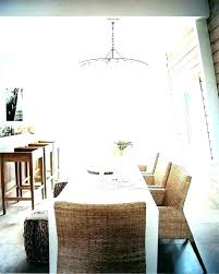 dining room chandelier height contemporary chandeliers proper table heigh