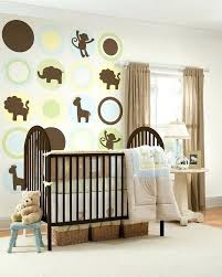 nursery wall decor kids white wooden crib wall picture red fl rug room decor ideas blue pattern valance baby room wall stickers india