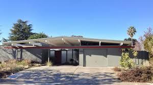 An Eichler mid-century modern home in Sunnyvale, CA