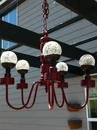 solar light chandelier freckle face girl solar patio chandelier how to make solar light chandelier