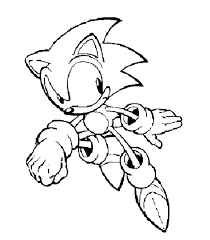 Sonic Cartoon Coloring Pages Sonic The Hedgehog Coloring Pages To