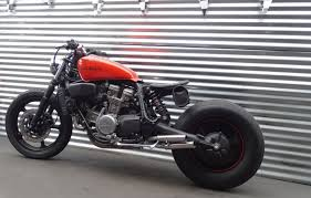 honda cafe racer bobber street fighter super magna