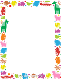 Small Picture Animal Border borders and frames Pinterest Animal Border