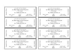Make Free Tickets How To Make Printable Raffle Tickets Ticket Maker Template