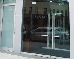 fronts aluminum glass doors