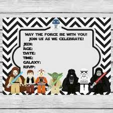 star wars birthday invite template free printable star wars party invitations recherche google star