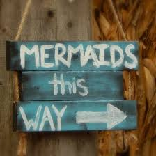 all you need is some wood pieces rope and paint this is an easy diy that will allow you to add some fun to your mermaid bedroom