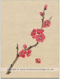 chinese brush painting student artwork