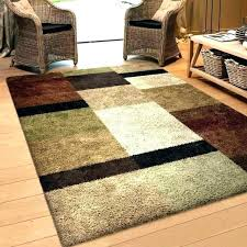 blue brown area rug square and tan solid taupe rugs 4 x 6 5 8