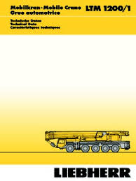 Ltm 1200 1 Load Chart Liebherr Ltm 1200 1 Specifications Cranemarket