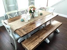 farmhouse dining table plans farm table with bench farmhouse kitchen table bench plans farmhouse dining table