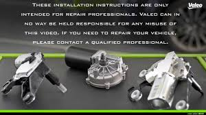 replace a valeo wiper motor parallel front system easily replace a valeo wiper motor parallel front system easily