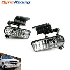 Us 12 22 6 Off Fog Light For Chevrolet Chevy 99 02 Silverado 00 06 Suburban Tahoe Clear Lens Bumper Fog Lights Driving Lamps Yc101000 In Car Light