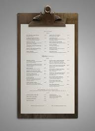 Restaurant Menus Layout 45 Remarkable Food Drink Menu Designs Bashooka