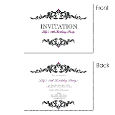 Surprise Birthday Party Invitation Template Templates 50th
