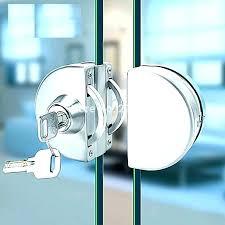 sophisticated glass cabinet door locks sliding glass cabinet door locks full image for swinging glass cabinet