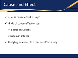 examples of cause and effect essays ideas about cause and cause and effect essays