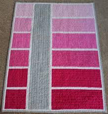 Ombre Color Block Quilt. Love the idea of a different color block ... & Ombre Color Block Quilt. Love the idea of a different color block to spice  up Adamdwight.com