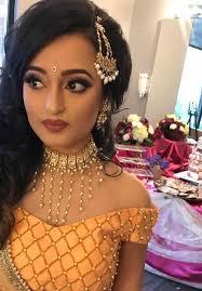 asian bridal party makeup artist