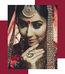 bridal makeup looks for stunning dusky