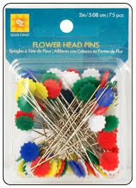 EZ Flat Flower Head Pins 75pc -- CreateForLess &  Adamdwight.com
