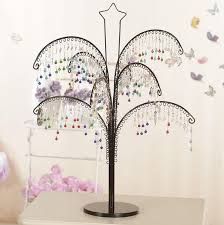 Fascinator Display Stands Classy Metal Tree Shape Shop Earring Necklace Jewelry Display Stand Holder