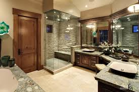 without toilet wide dressing mirrors with decorative mounting lamps along with marble top of sinks and bathtub for bathroom lighting ideas dress mirror