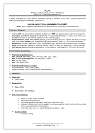 Resume Template Latest Resume Samples For Experienced Complete