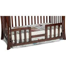convertible cribs cottage bedroom gold wooden crib bed rail es r us mattress included storage drawer